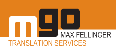 Logo von Max Fellinger - mgo translation services